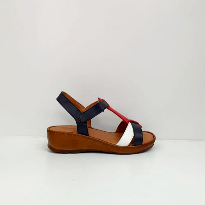 Sandale Dama Piele Naturala Negre Marilena D02702 5