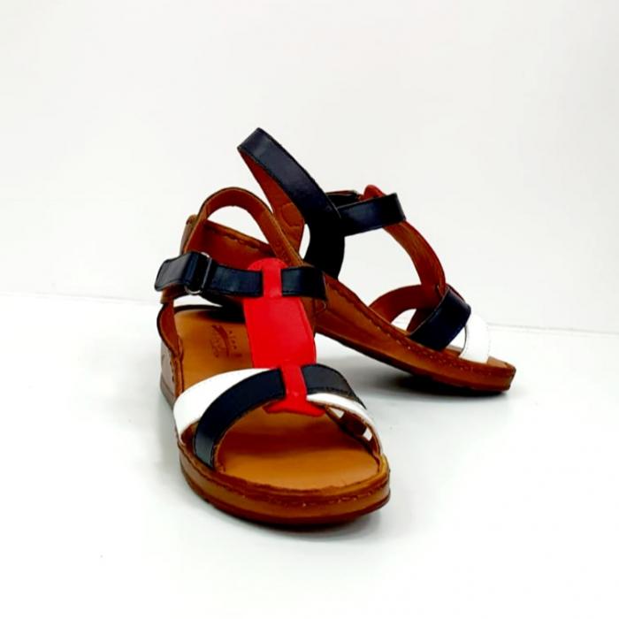 Sandale Dama Piele Naturala Negre Marilena D02702 7