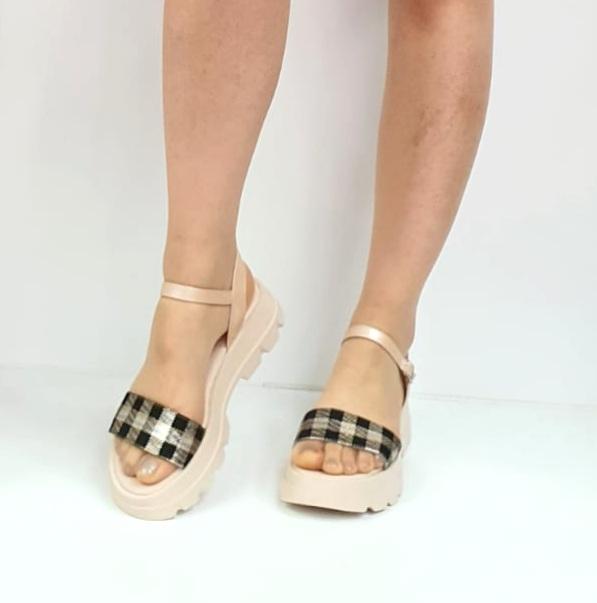 Sandale Dama Piele Naturala Roz Moda Prosper Berthe D02749 [1]