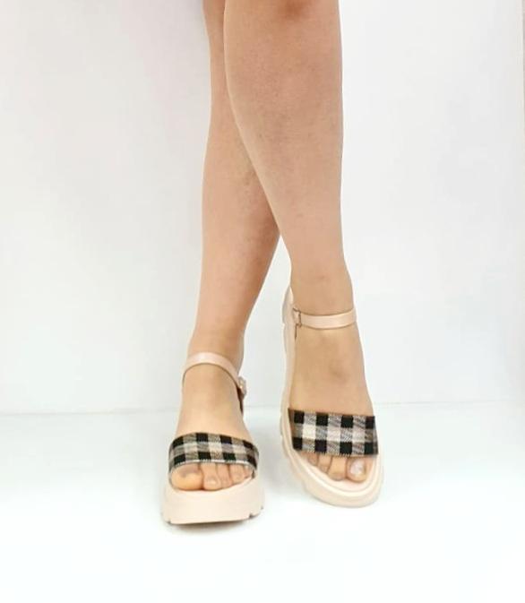 Sandale Dama Piele Naturala Roz Moda Prosper Berthe D02749 [2]