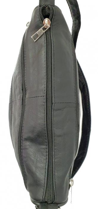 Geanta Dama Piele Naturala Neagra Lenny G00965 [5]