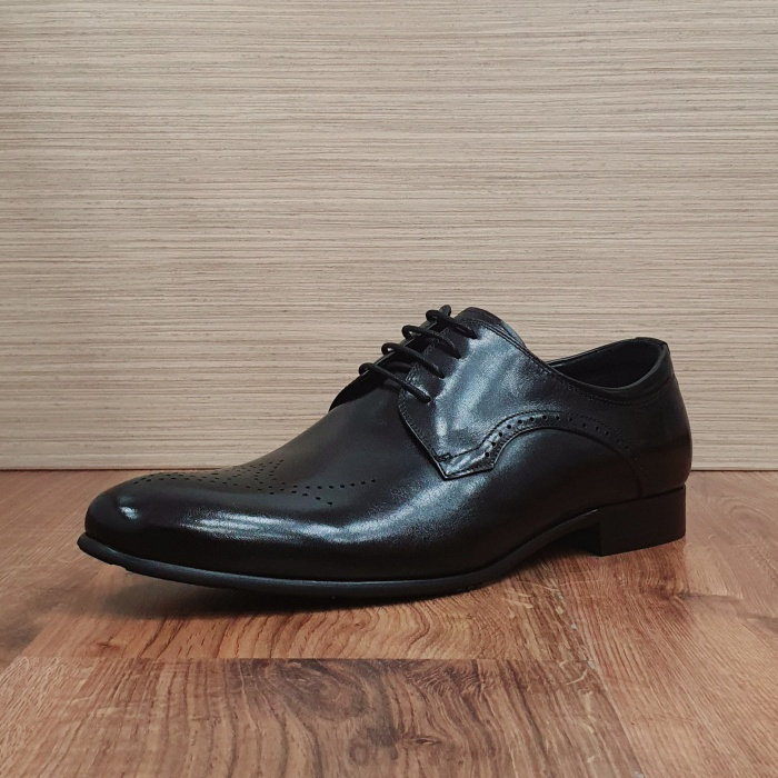 Pantofi Barbati Piele Naturala Negri Corneliu B00083 7