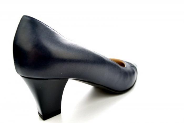 Pantofi cu toc Piele Naturala Bleumarin Guban Miriam D01121 2
