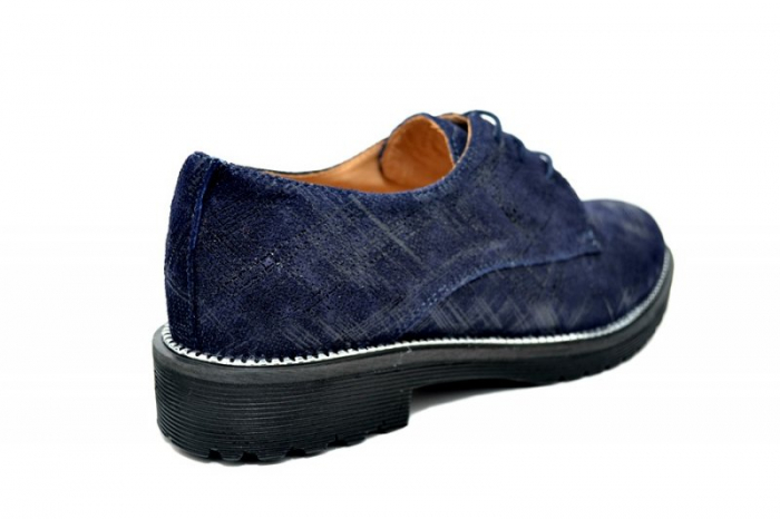 Pantofi Oxford Piele Naturala Bleumarin Orana D01742 3