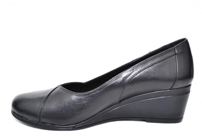 Pantofi Casual Piele Naturala Negri Abena D02085 0