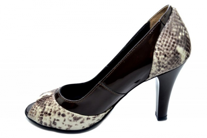Pantofi Dama Piele Naturala Maro Amata D01323 1