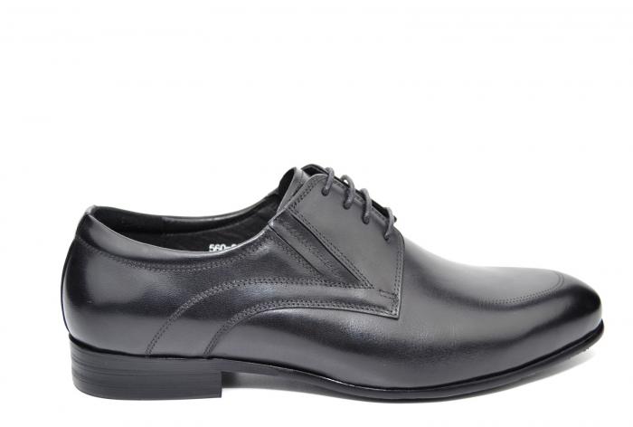 Pantofi Barbati Piele Naturala Negri Andy B00014 0