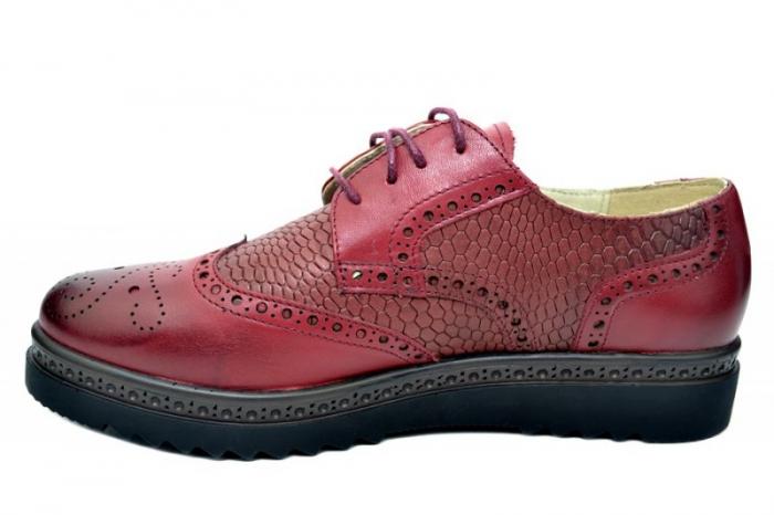 Pantofi Oxford Piele Naturala Grena Anouk D01786 1