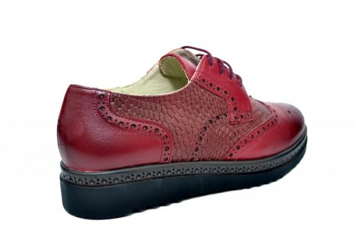 Pantofi Oxford Piele Naturala Grena Anouk D01786 3