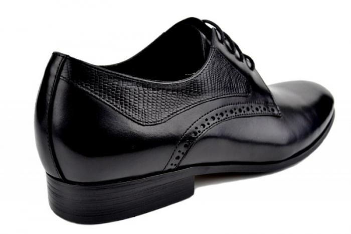 Pantofi Barbati Piele Naturala Negri Benjamin B00003 3