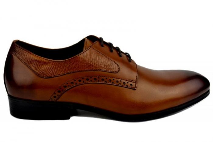 Pantofi Barbati Piele Naturala Maro Benjamin B00002 [0]
