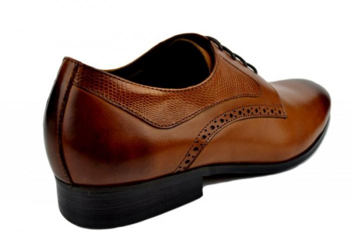 Pantofi Barbati Piele Naturala Maro Benjamin B00002 3