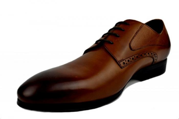 Pantofi Barbati Piele Naturala Maro Benjamin B00002 2