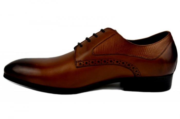Pantofi Barbati Piele Naturala Maro Benjamin B00002 [1]
