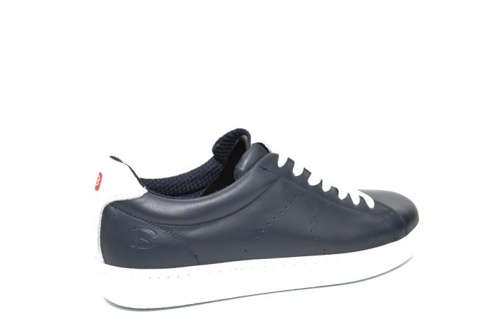 Pantofi Barbati Casual Piele Bleumarin BIT Beckham B00017 [3]