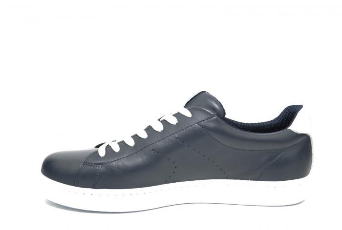 Pantofi Barbati Casual Piele Bleumarin BIT Beckham B00017 [1]