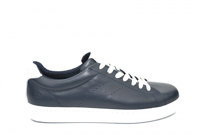 Pantofi Barbati Casual Piele Bleumarin BIT Beckham B00017 [0]