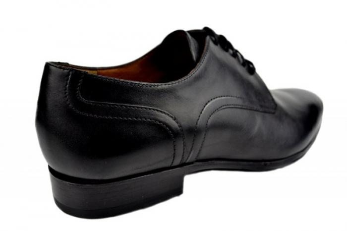 Pantofi Barbati Piele Naturala Negri Denis Lucas B00008 3