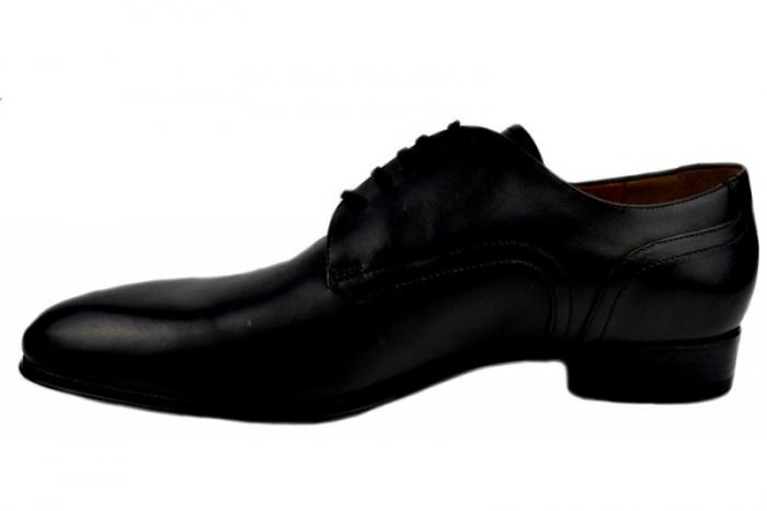 Pantofi Barbati Piele Naturala Negri Denis Lucas B00008 1