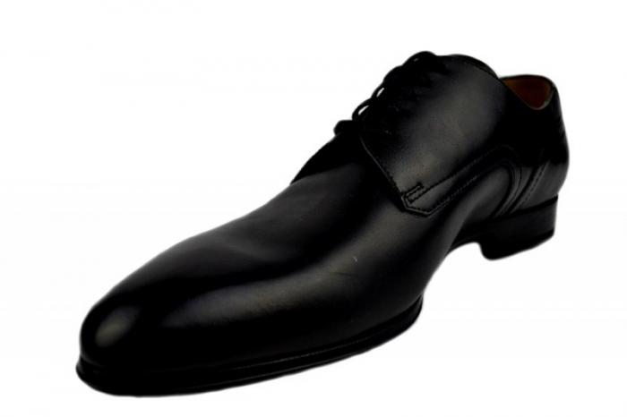 Pantofi Barbati Piele Naturala Negri Denis Lucas B00008 2