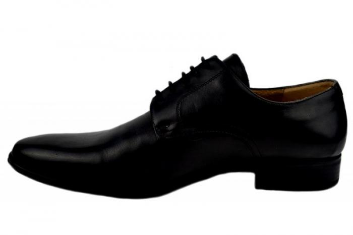 Pantofi Barbati Piele Naturala Negri Denis Mason B00007 1