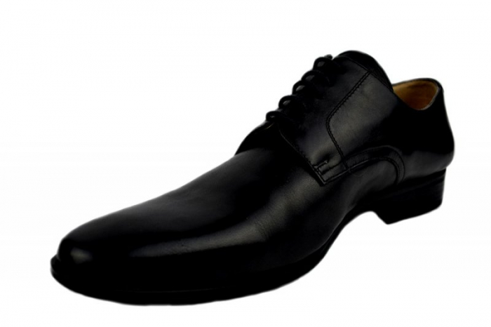 Pantofi Barbati Piele Naturala Negri Denis Mason B00007 2
