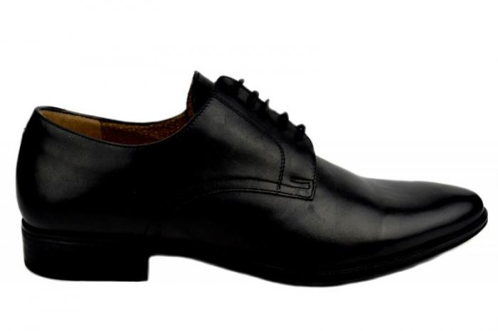 Pantofi Barbati Piele Naturala Negri Denis Mason B00007 0