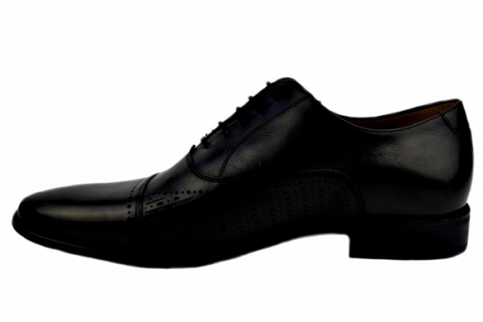 Pantofi Barbati Piele Naturala Negri Denis Noah B00009 1