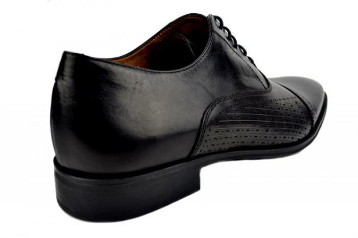 Pantofi Barbati Piele Naturala Negri Denis Noah B00009 3