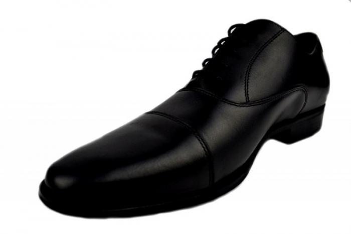 Pantofi Barbati Piele Naturala Negri Denis Oliver B00006 2