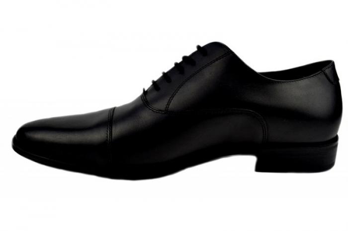 Pantofi Barbati Piele Naturala Negri Denis Oliver B00006 1