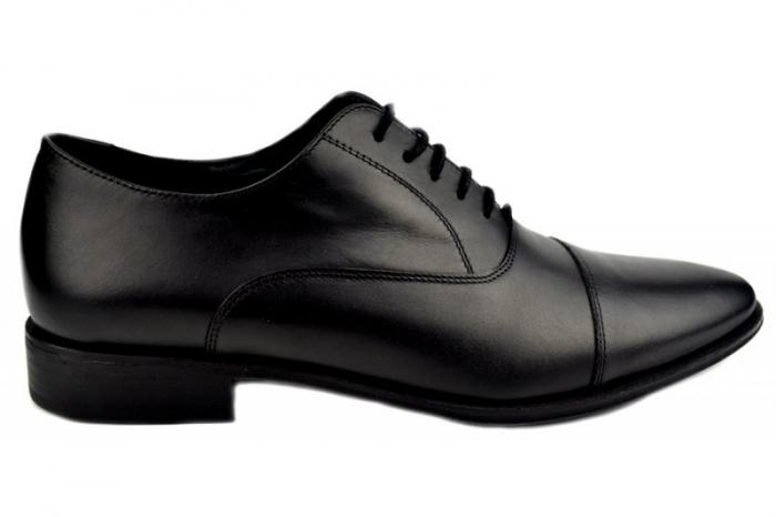 Pantofi Barbati Piele Naturala Negri Denis Oliver B00006 0