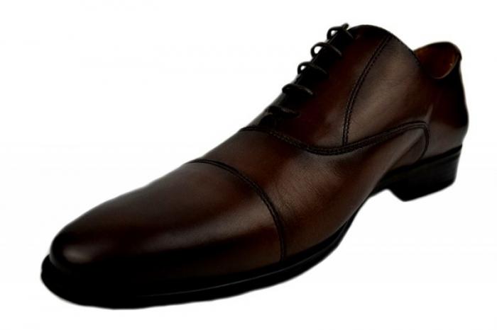 Pantofi Barbati Piele Naturala Maro Denis Oliver B00005 2