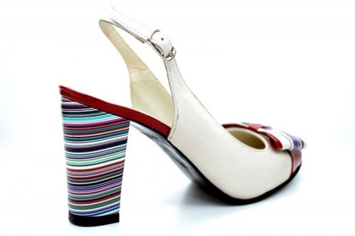 Pantofi Dama Piele Naturala Bej Moda Prosper Denise D01108 2
