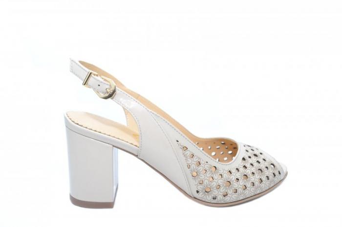 Sandale Piele Guban Mikaely 0