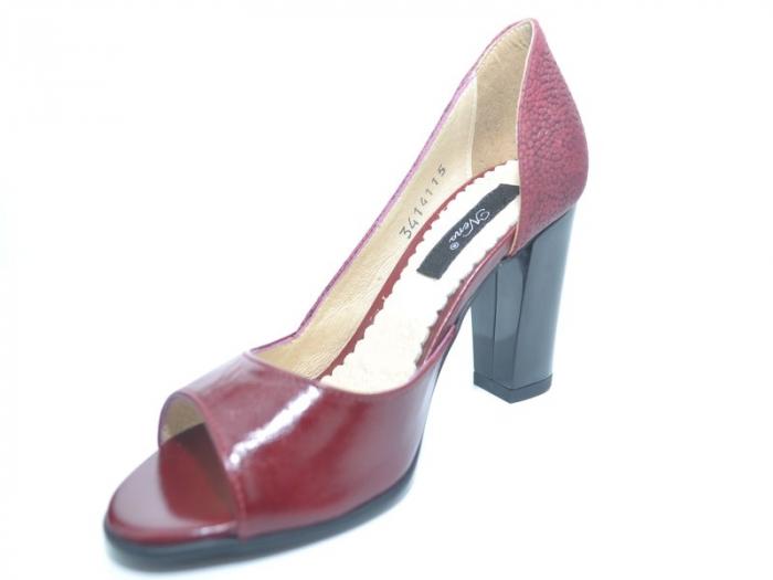 Pantofi cu toc Piele Naturala Grena Ivonna D01151 2