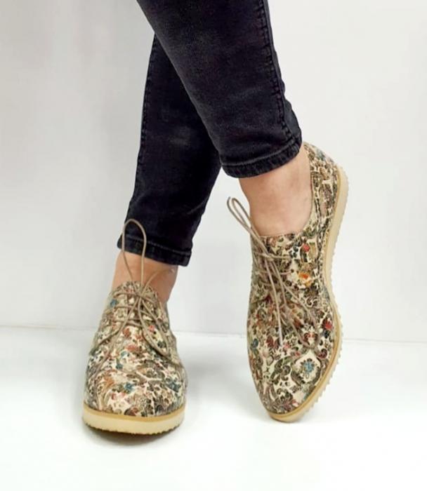 Pantofi Casual Piele Naturala Kalista D02038 0