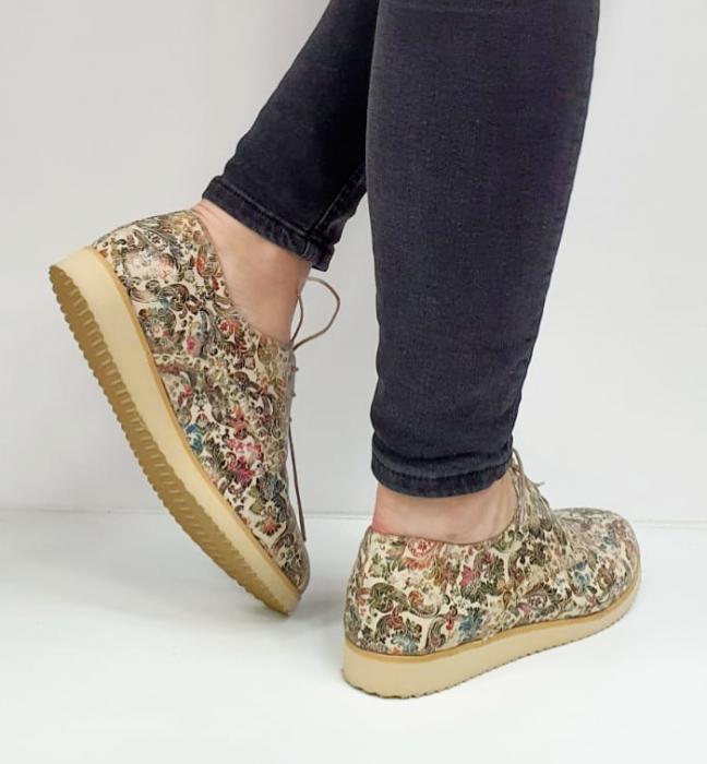 Pantofi Casual Piele Naturala Kalista D02038 4