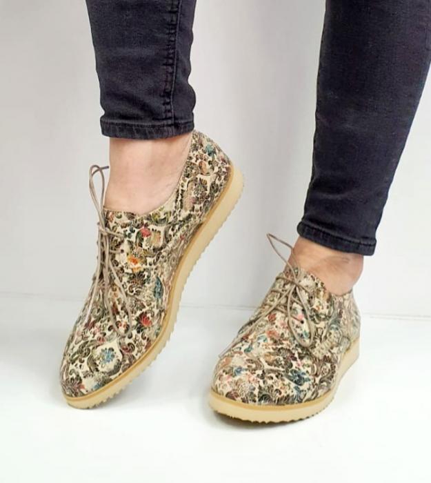 Pantofi Casual Piele Naturala Kalista D02038 3