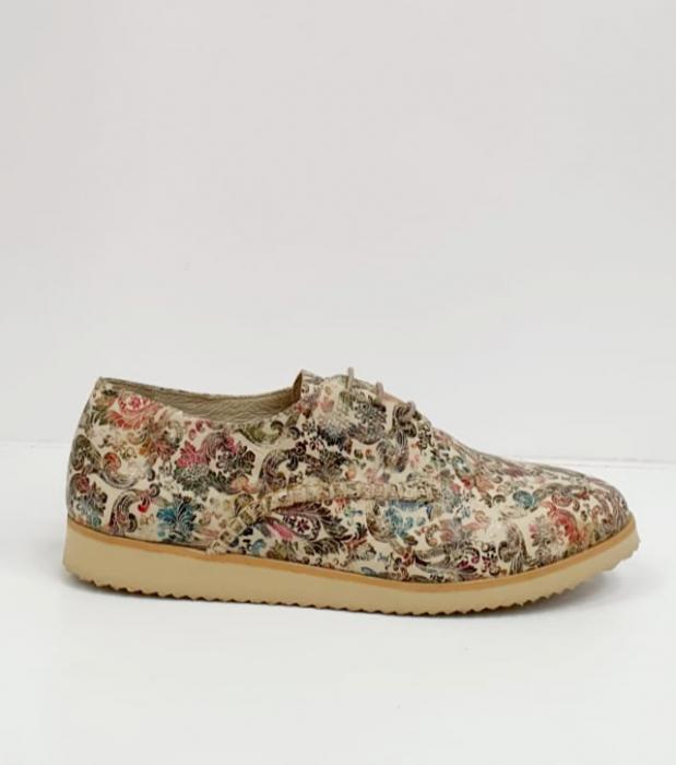 Pantofi Casual Piele Naturala Kalista D02038 5