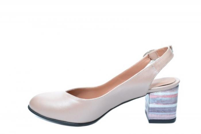 Pantofi Dama Piele Naturala Nude Moda Prosper Kara D02034 1