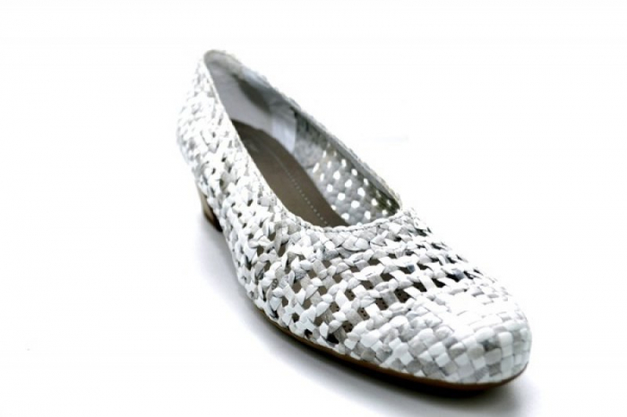 Pantofi cu toc Piele Naturala Gri Ara Katya D01138 4