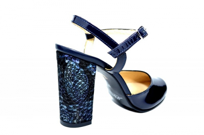 Pantofi Dama Piele Naturala Bleumarin Matheo D01827 3