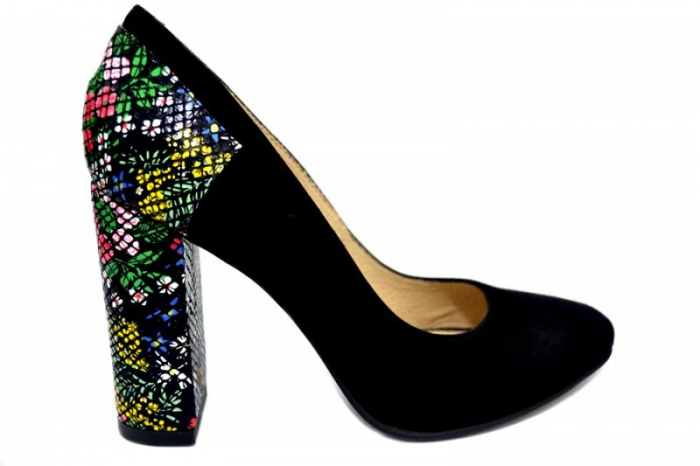Pantofi cu toc Piele Naturala Moda Prosper Melisandre D01367 0