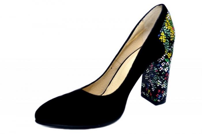 Pantofi cu toc Piele Naturala Moda Prosper Melisandre D01367 2