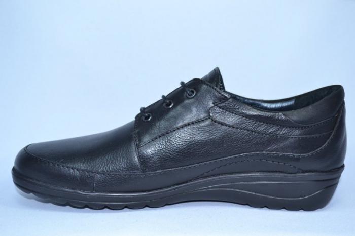 Pantofi Dama Piele Naturala Negri Antonellia 1