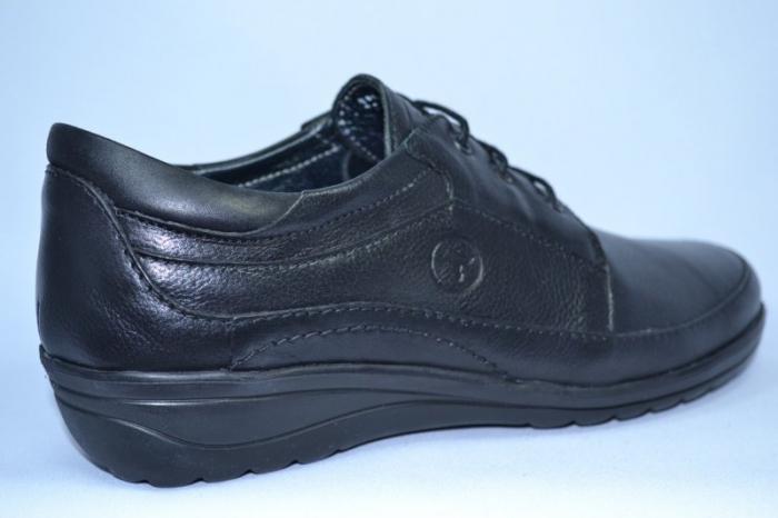 Pantofi Dama Piele Naturala Negri Antonellia 4