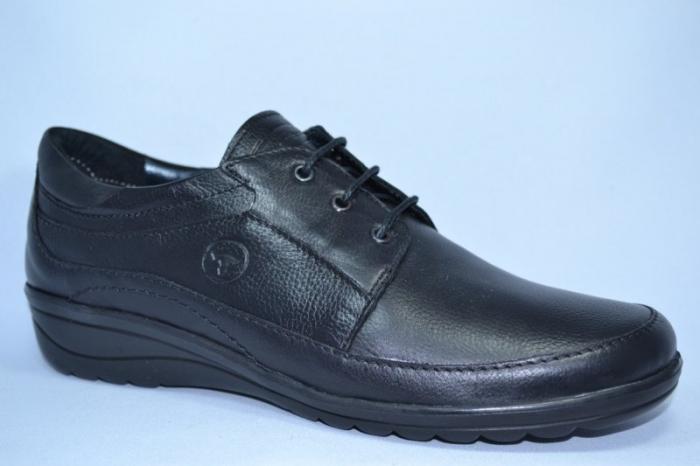 Pantofi Dama Piele Naturala Negri Antonellia 3