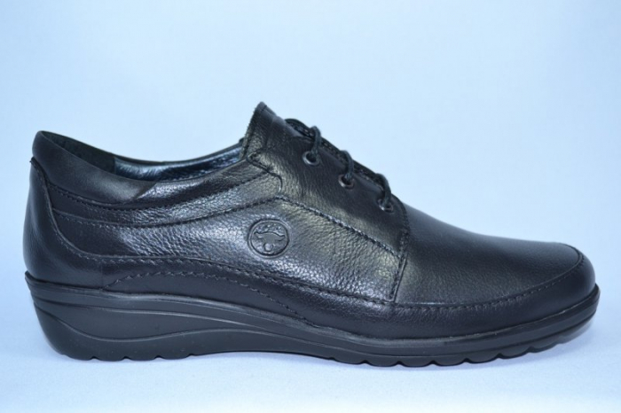 Pantofi Dama Piele Naturala Negri Antonellia 0