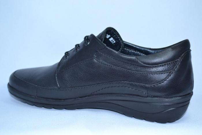 Pantofi Dama Piele Naturala Negri Antonellia 5